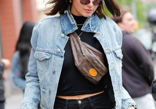 The bum bag is making an unlikely comeback + We are kinda digging it.