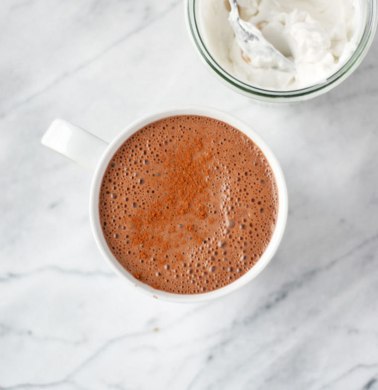 Upgraded Healthy Hot Chocolate