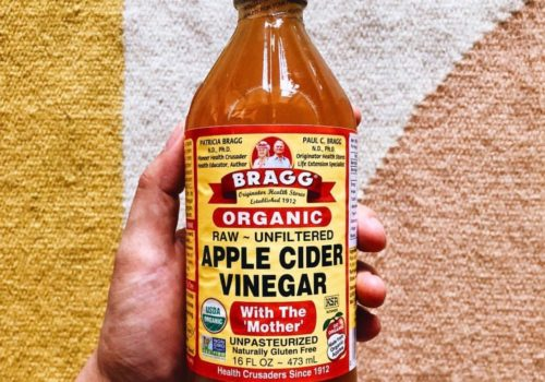 Don't Drink Your Apple Cider Vinegar This Way